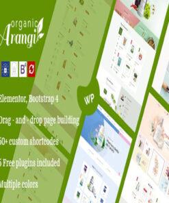 arangi organic woocommerce theme gpl pass