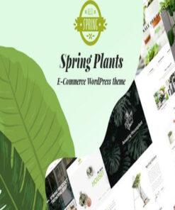 spring plants gardening & houseplants wordpress theme gpl pass