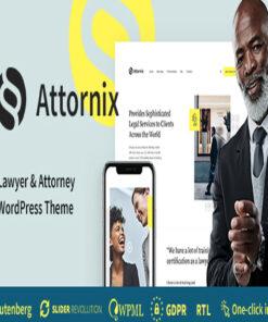attornix lawyer wordpress theme gpl pass