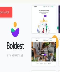 boldest consulting and marketing agency theme gpl pass