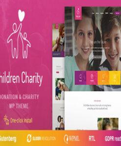 children charity nonprofit & ngo wordpress theme gpl pass