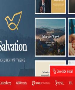 salvation chSalvation - Church & Religion WP Themeurch & religion wp theme gpl pass